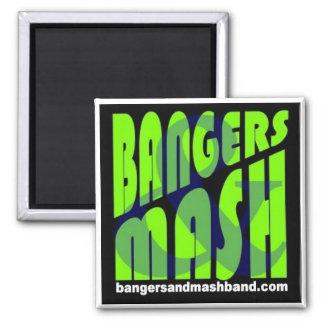 爆竹及びマッシュの磁石 マグネット