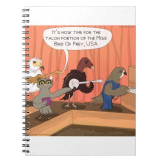 爪のコンテスト肉食鳥 ノートブック