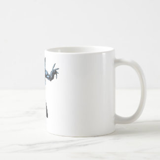 爪を持つキャットウーマン コーヒーマグカップ