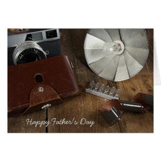 父の初生写真撮影装置 カード