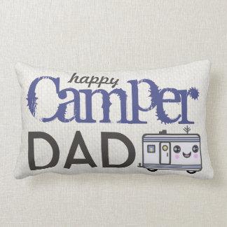 父の日のご機嫌な人のパパのキャンプの枕 ランバークッション