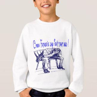 父の日のユーモア スウェットシャツ