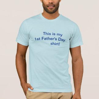 父の日のワイシャツまたは最初に Tシャツ