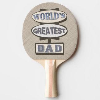 父の日の最も最高のなパパのホテルの印の卓球ラケット 卓球ラケット