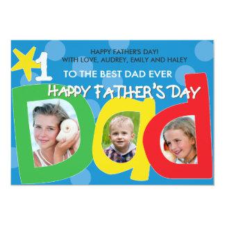 父の日の最も最高のなパパの点 カード