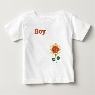 父の日の父の男の子 ベビーTシャツ