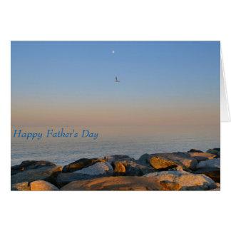 父の日カードチェサピーク湾の背景 カード