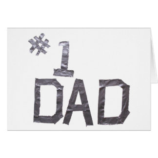 父の日-ガムテープ グリーティングカード