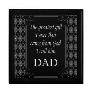 """父の日-誕生日""""最も素晴らしいギフトI """" ギフトボックス"""