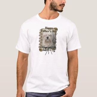 父の日- Lowchen Tシャツ