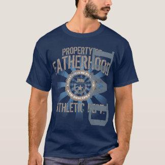 父権の運動暗いTシャツの特性 Tシャツ