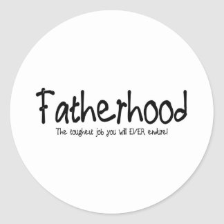 父権: あなたが耐える最も堅い仕事 ラウンドシール