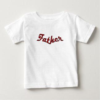 父 ベビーTシャツ