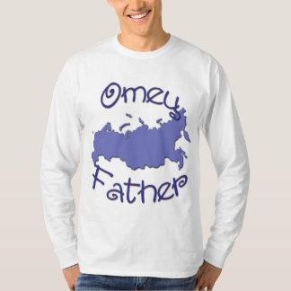 父(ロシア語)の地図 Tシャツ