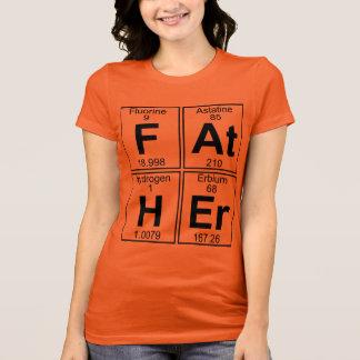 父(父) -十分に Tシャツ