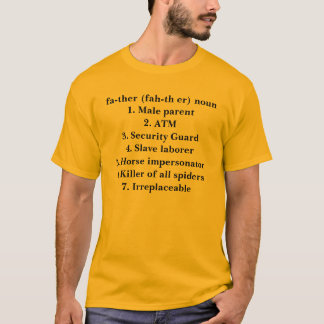 父(華氏Thえー) Tシャツ
