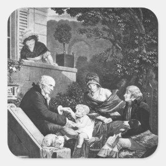 父、c.1797があることの喜び スクエアシール