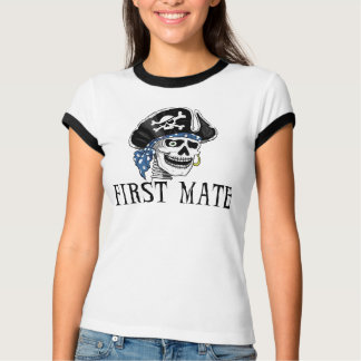 片目の海賊一等航海士 Tシャツ