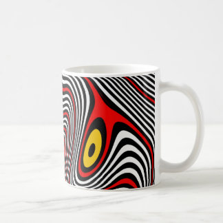 片頭痛のオーラの目の錯覚 コーヒーマグカップ