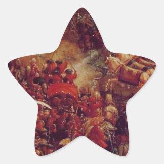(片)イッソスの戦いアルブレヒトAltdorfer 星シール