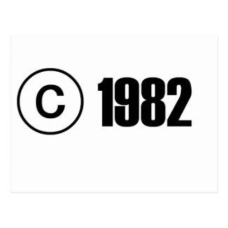 版権1982年 ポストカード