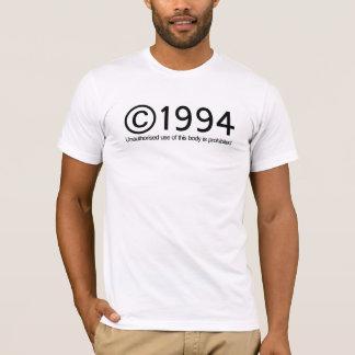 版権1994の誕生日 Tシャツ