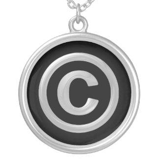 版権 シルバープレートネックレス
