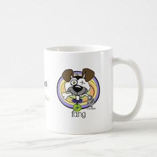 牙-かみ傷のマグ コーヒーマグカップ