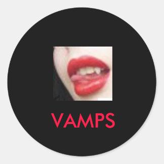牙、VAMPS 丸型シール