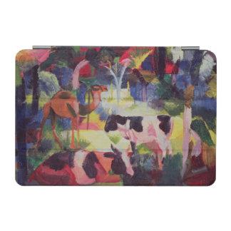 牛およびラクダとの景色 iPad MINIカバー