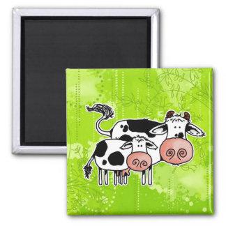 牛および子牛 マグネット