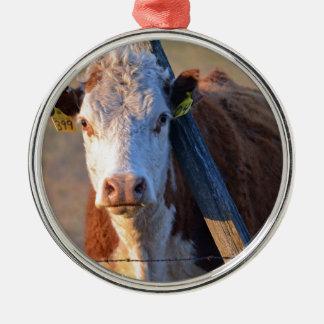 牛および彼のポスト メタルオーナメント