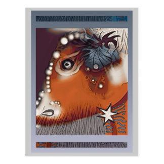 牛のような視野 ポストカード