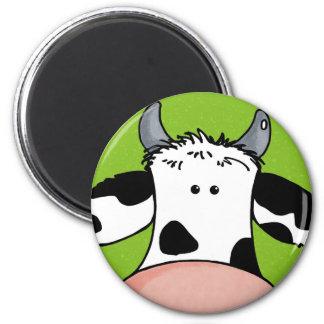 牛の上で閉めて下さい マグネット