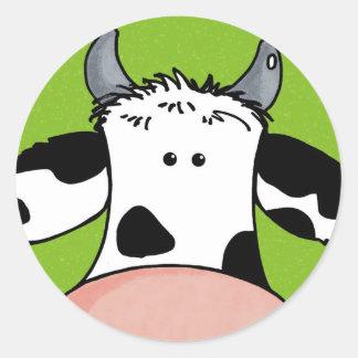 牛の上で閉めて下さい ラウンドシール