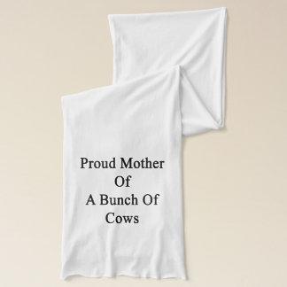 牛の束の誇り高い母 スカーフ