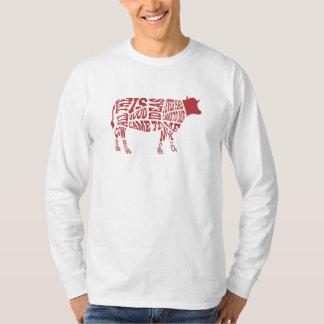 牛は言います Tシャツ