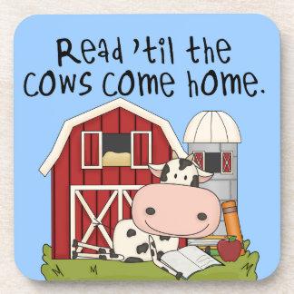 牛まで読書は「家に帰ります コースター