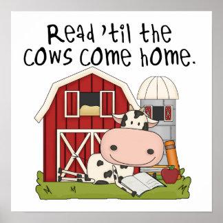 牛まで読書は「家に帰ります ポスター