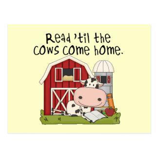 牛まで読書は「家に帰ります ポストカード