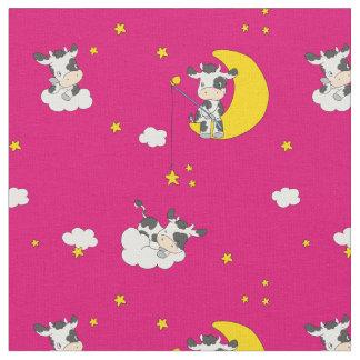 牛を夢を見ること ファブリック