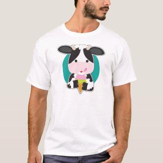 牛アイスクリーム Tシャツ