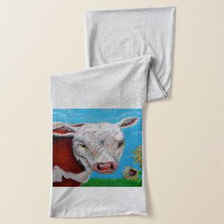 牛スカーフ スカーフ