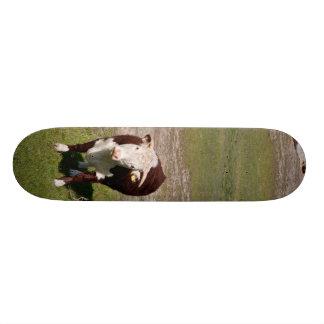 牛スケートボード 20CM スケートボードデッキ