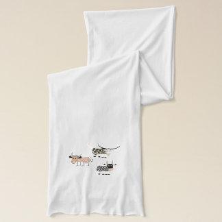 牛トリオ スカーフ