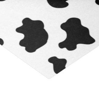牛パターンギフトのティッシュペーパー 薄葉紙