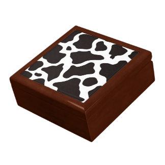牛パターン背景 ギフトボックス