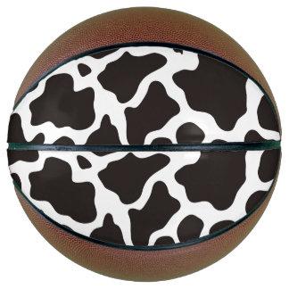 牛パターン背景 バスケットボール