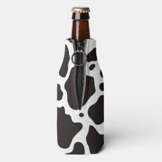 牛パターン背景 ボトルクーラー