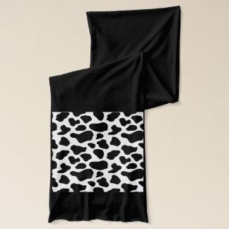 牛プリントのスカーフ スカーフ
